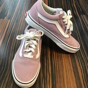 Lavender/ pastel purple Vans